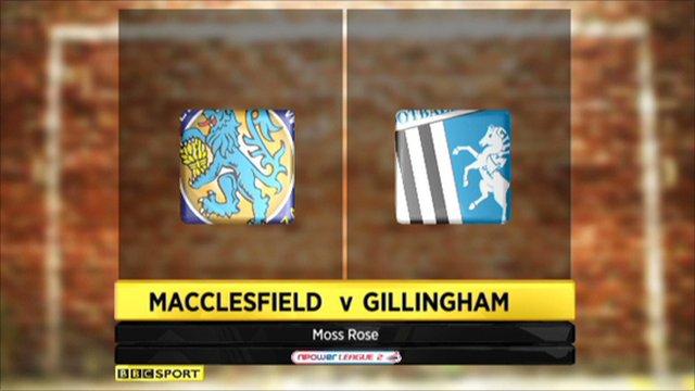 Macclesfield 0-0 Gillingham