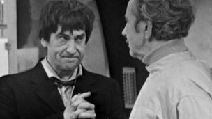 Patrick Troughton as Doctor Who in 'The Underwater Menace'