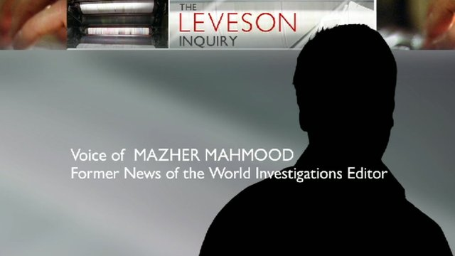Leveson Inquiry graphic