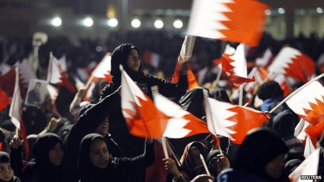 Protest in Bahrain - 9 September 2011
