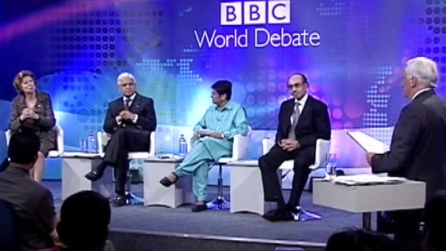 BBC World Debate in Mumbai