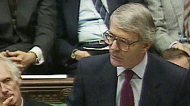 John Major (archive picture)