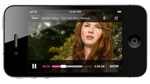 BBC iPlayer on iPhone