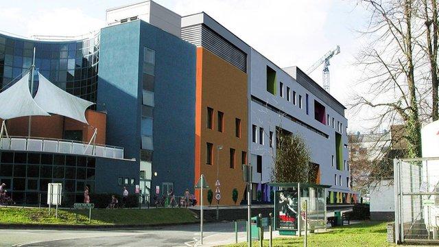Design for proposed Children's Hospital for Wales development