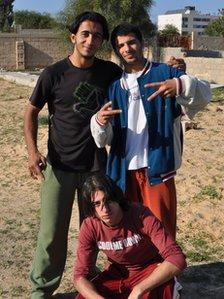 Jihad Abu Sultan, Abdullah Mamoun and Mohammed Jamal Jahbir