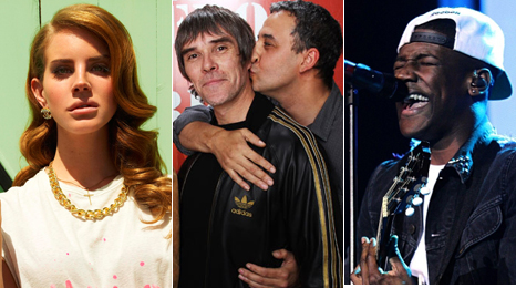 Lana del Rey, Stone Roses and Labrinth