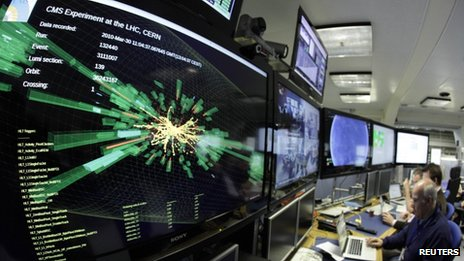 Control room at Cern
