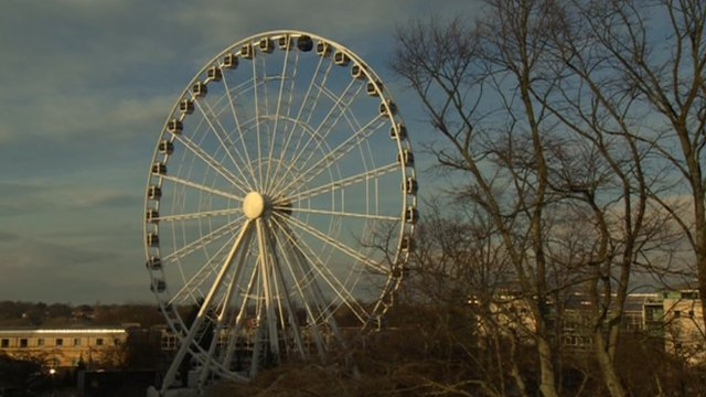 York big wheel at Royal York Hotel