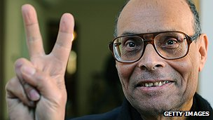 Tunisian president Moncef Marzouki