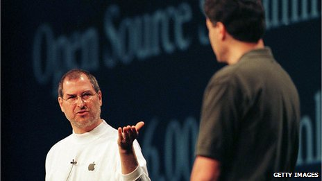 Steve Jobs with Avie Tevanian