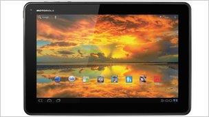 Google Xoom tablet