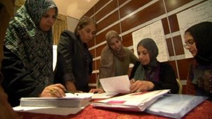 Women&#039;s rights activists meet in Tripoli