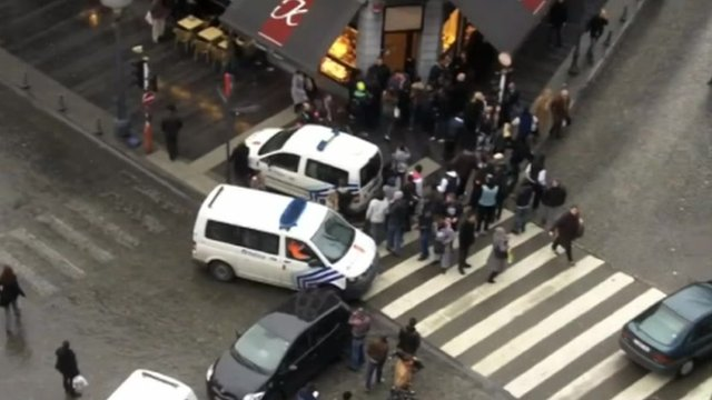 Deadly attack rocks central Liege in Belgium