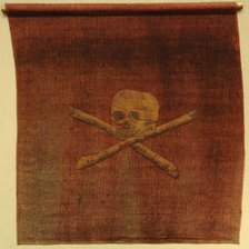 The Jolly Roger flag