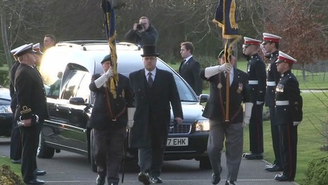The funeral for Carl Davies was held in Bobbing