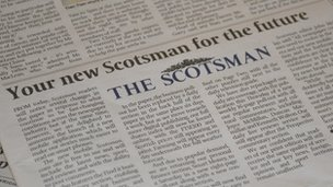 The Scotsman newspaper