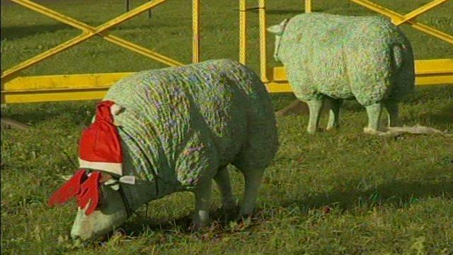 Fake sheep