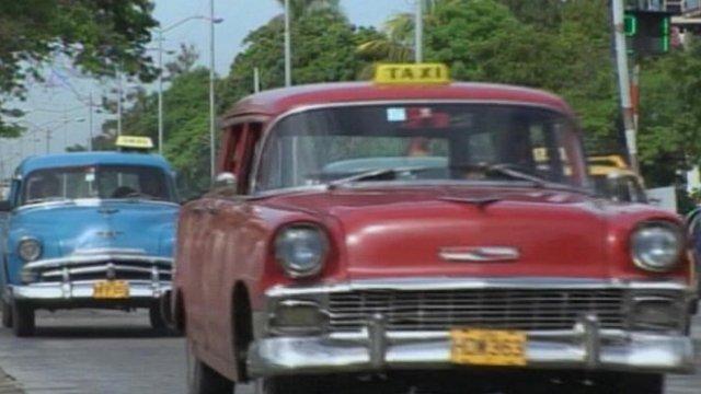 cuban car sale rise after law change bbc news. Black Bedroom Furniture Sets. Home Design Ideas