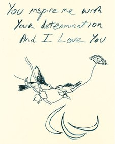 Birds 2012 by Tracey Emin
