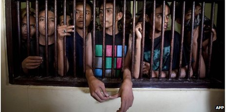 Aceh punks in detention