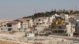 Settlement of Qedar, on the outskirts of Jerusalem (November 2011)