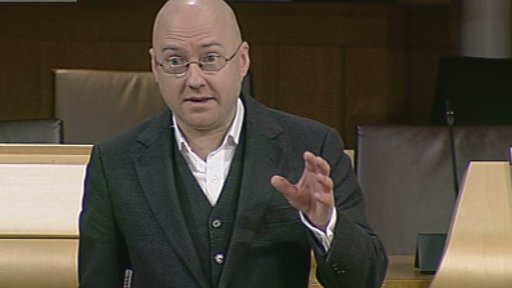 Mr Harvie puts forward amendments for the offensive behaviour at football and threatening communciations Scotland bill