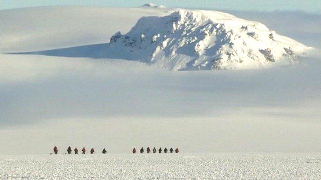 Icelandic glacier of Langj�kull