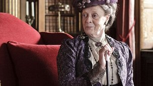 Dame Maggie Smith in Downton Abbey