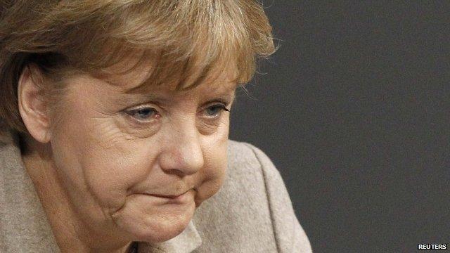 German Chancellor, Angela Merkel