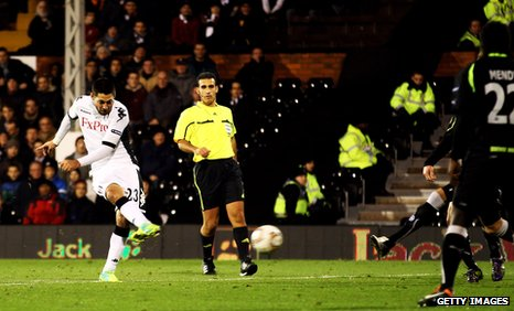Fulham winger Clint Dempsey