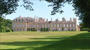 Boughton House in Northamptonshire