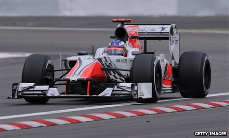 HRT have finished second last in the constructors&#039; championship for the last two years