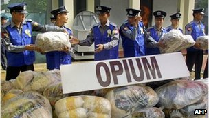 Opium in Myanmar