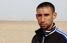 Nader el Masri, runner from Gaza