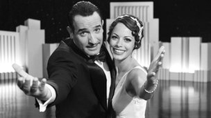 Jean Dujardin and Berenice Bejo play the lead roles in The Artist
