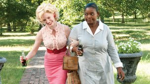 Three of The Help's female actresses are nominated for awards