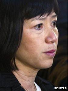 Mr Chirac's adopted daughter Anh Dao Traxel (15 Dec 2011)