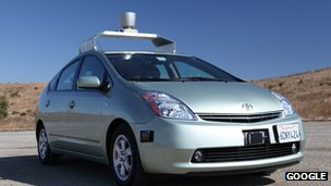 Google&#039;s driverless car