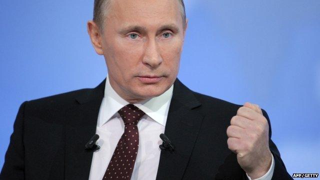 Russian Prime Minister, Vladimir Putin