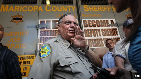 File photo of US Sheriff Joe Arpaio
