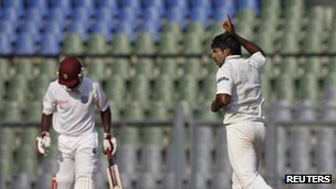 India vs West Indies Test match in Mumbai in November 2011