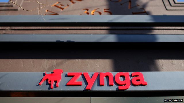 Zynga's head office in San Francisco, United States.