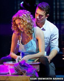 Caissie Levy and Richard Fleeshman lead the cast in Ghost The Musical