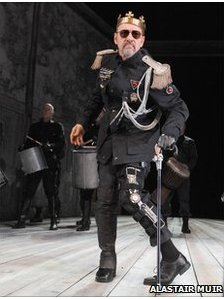 Kevin Spacey as Richard III at the Old Vic