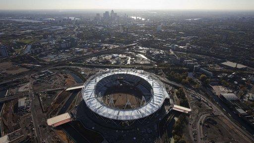Olympic stadium Stratford