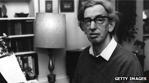 Eric Hobsbawm at home, 1 January 1976