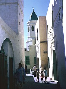 Tripoli's Old City in 1974