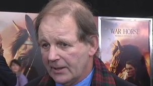 Michael Morpurgo at War Horse premiere