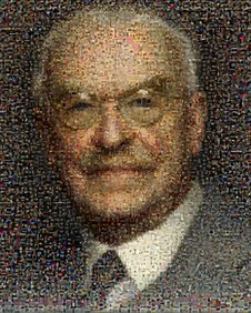 Mosaic of Sir Alfred Herbert