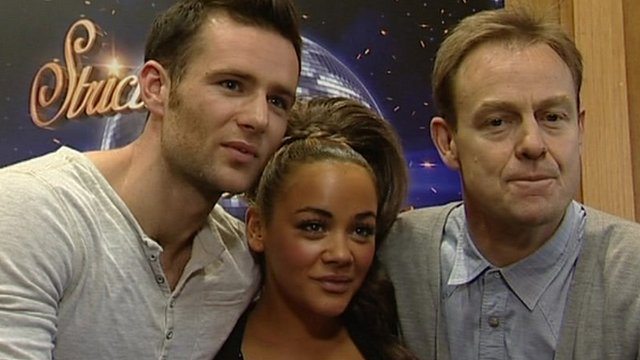 Strictly finalists Harry Judd, Chelsee Healey and Jason Donovan